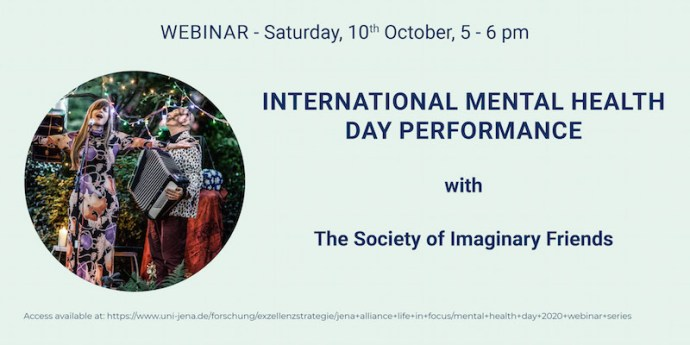 International Mental Health Day performance with Society of Imaginary Friends