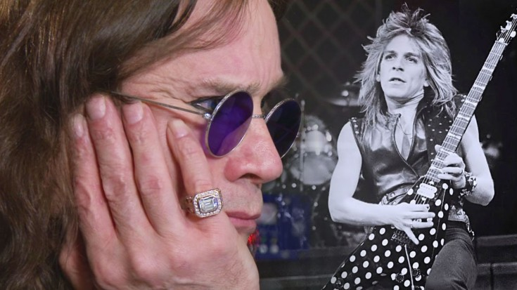Ozzy Listens To Lost Randy Rhoads Solo | Train Fanatics Videos