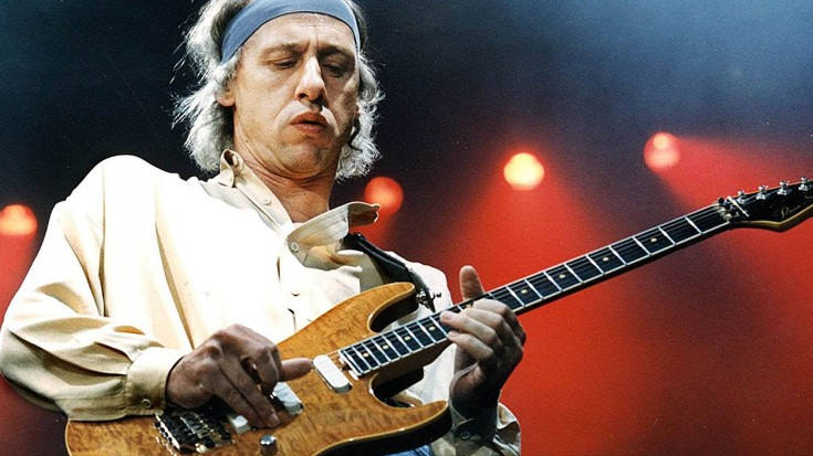 """DIRE STRAITS: Hear Mark Knopfler's Isolated Guitar Track From 1978's """"Sultans Of Swing"""" 