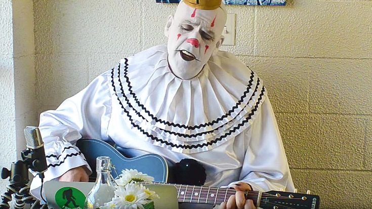 This 7ft Clown Sings Better Than 99 Of Todays Pop Stars Pink Floyd Cover Society Of Rock