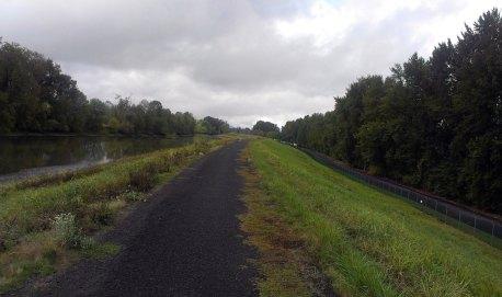 Columbia Slough path.