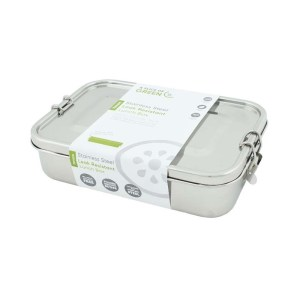 stainless steel plastic free lunchbox leakproof tupperware zero waste shop glasgow society zero