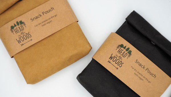 vegan leather reusable snack bags zero waste glasgow