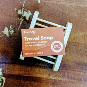 friendly travel soap plastic free vegan friendly