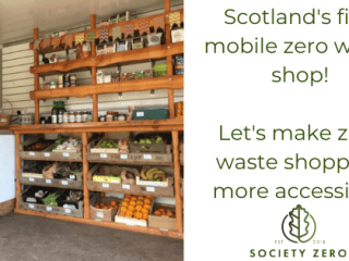mobile zero waste shop scotland
