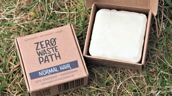 plastic free shampoo and conditioner for normal hair society zero glasgow