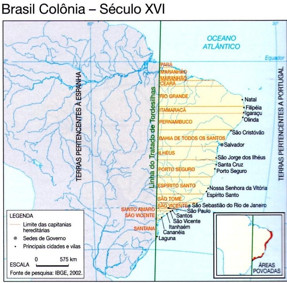 Povoamento e extensão territorial do Brasil (1/2)