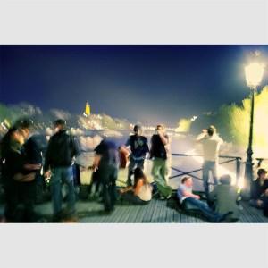 Evening. Paris