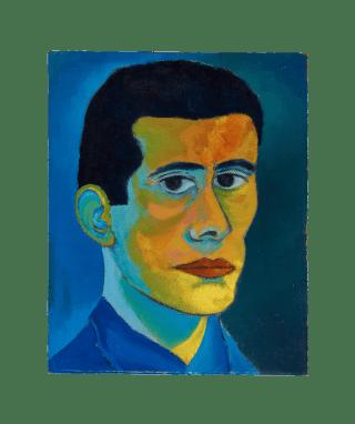 Sense títol, 1962 (autoretrat)