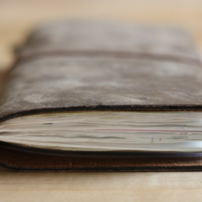 My First Experience With A Traveler's Notebook