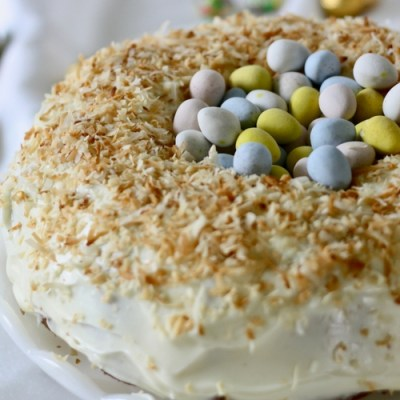 Nest Cake for Easter