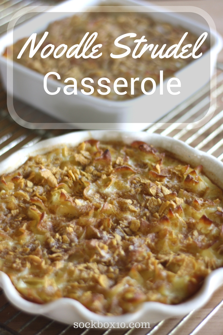 Noodle Strudel Casserole sockbox10.com