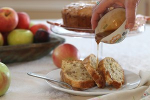 Apple Cake with Caramel Glaze sockbox10.com