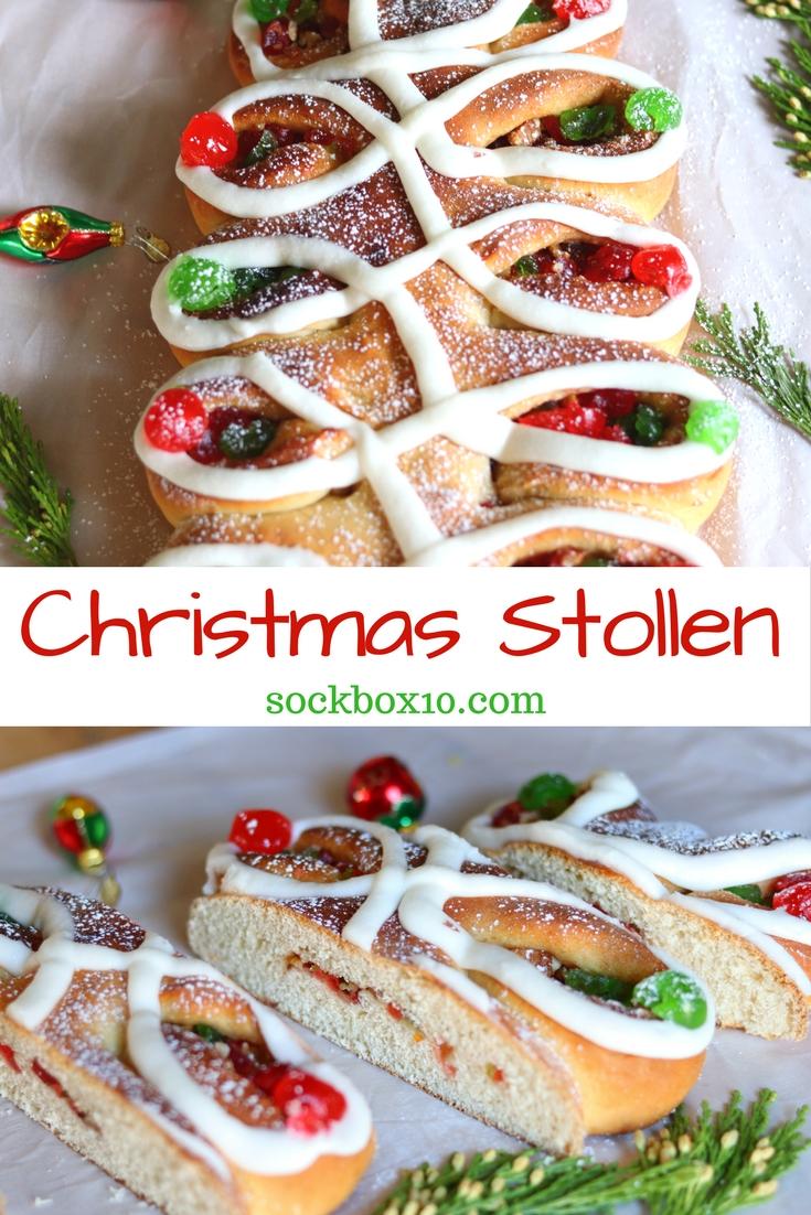 Christmas Stollen sockbox10.com