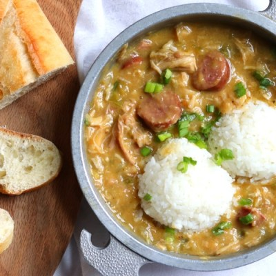 Louisiana-Style Chicken and Sausage Gumbo