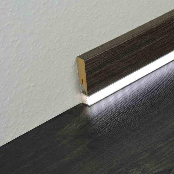 LED Sockelleiste Aluminium Profil