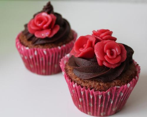 Recept: Äggfria Chokladcupcakes