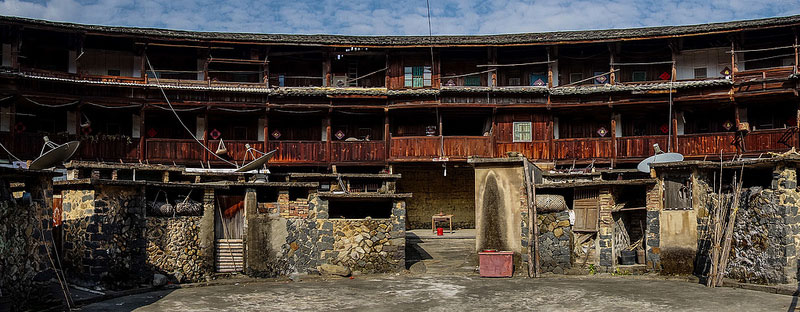 Hakka Tulou traditional Chinese Dwelling photo