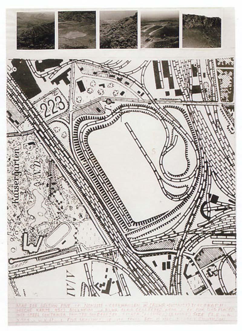 Robert Smithson: Oberhausen (Ruhr, Germany) Non-Site 1968