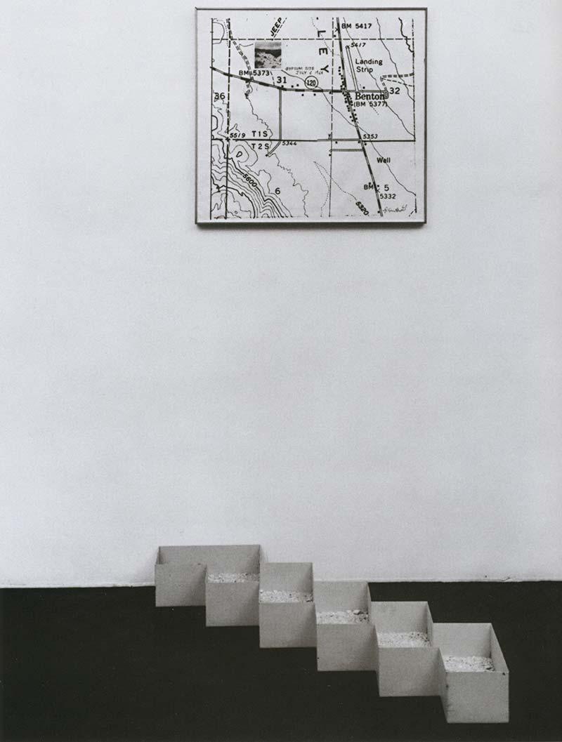 Robert Smithson: Gypsum Non site Benton, Ca (1968)