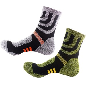 winter crew compression socks
