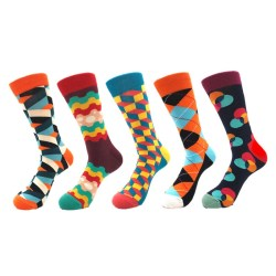 multi pattern compression socks