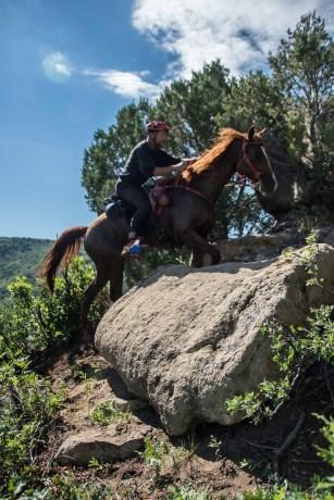 Christoph Schork on the Ridgeline Trail