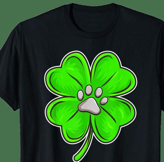St Patrick's Day Animal Lover Shamrock