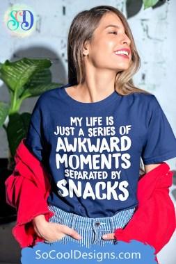 Funny Awkward Moments T-Shirt