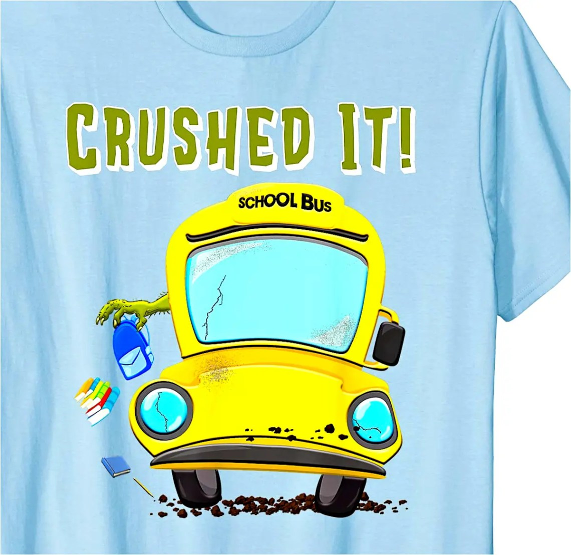 Funny School Bus T-Shirt
