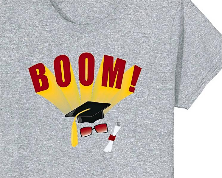 Graduation t-shirt