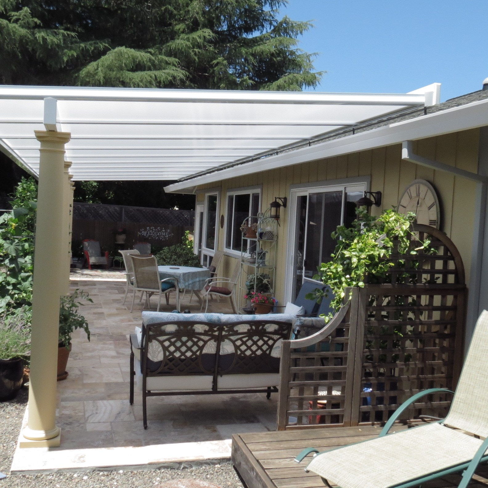 Acrylic Roof Patio Cover
