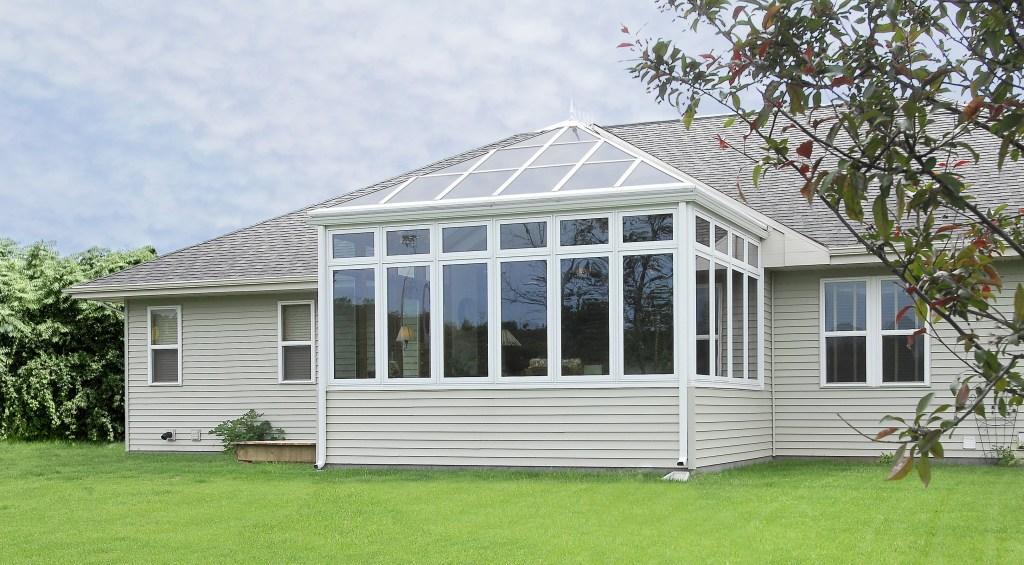 Exterior Glass Roof Sunroom