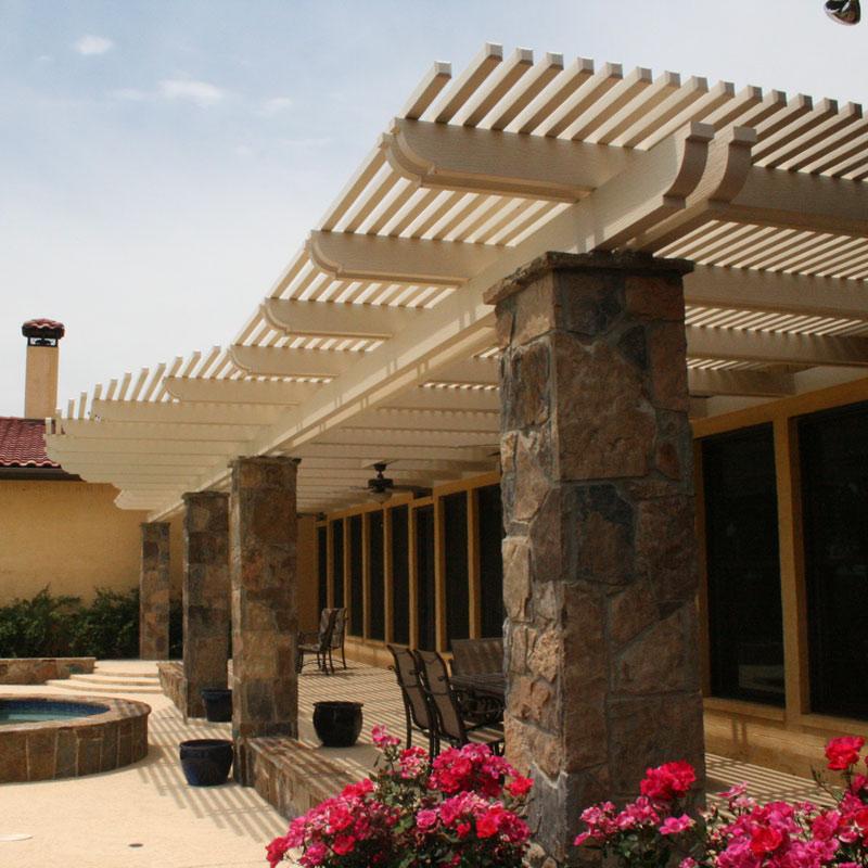 Customizeable Lattice Roof