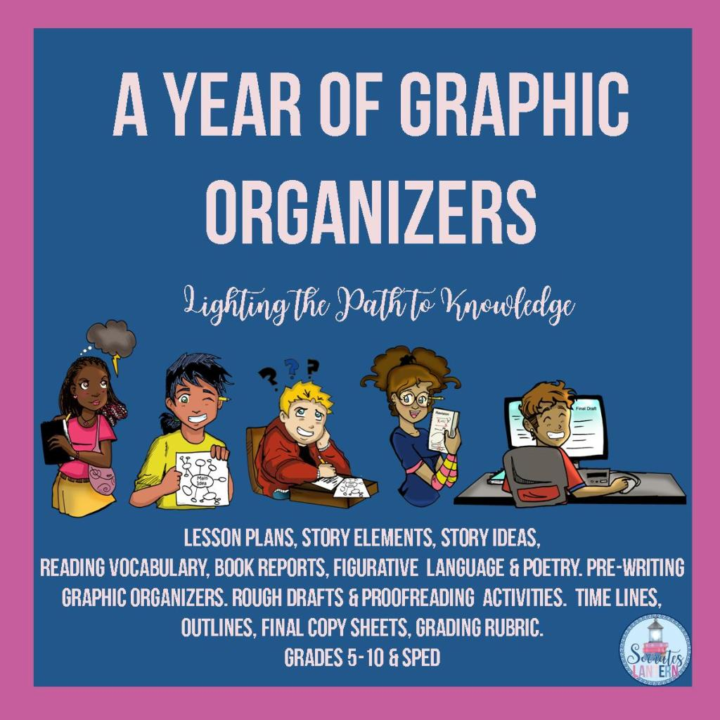 A Year of Graphic Organizers