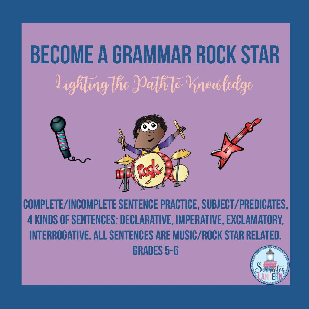 Become a Grammar Rock Star