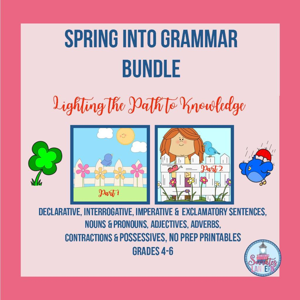 Spring into Grammar Bundle
