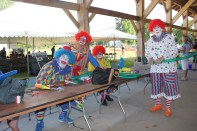 Clowns, a magician, and kids' games are the highlight of Thursday at the Summer Festival.
