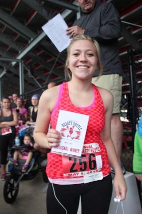 2015 race participant Samantha Borowski.