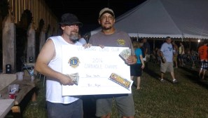 The horseshoe tournament winners were Dave Stafinski Jr. and Randy Munn. They bested the field of 64 horseshoe players on the hottest Saturday in July. Stafinski won the tournament with a different partner in the inaugural tournament in 2006. The 2017 B & B will be July 27-29.