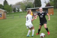 The soccer team played Lakeview recently in a close contest but unfortunately came up on the losing end.