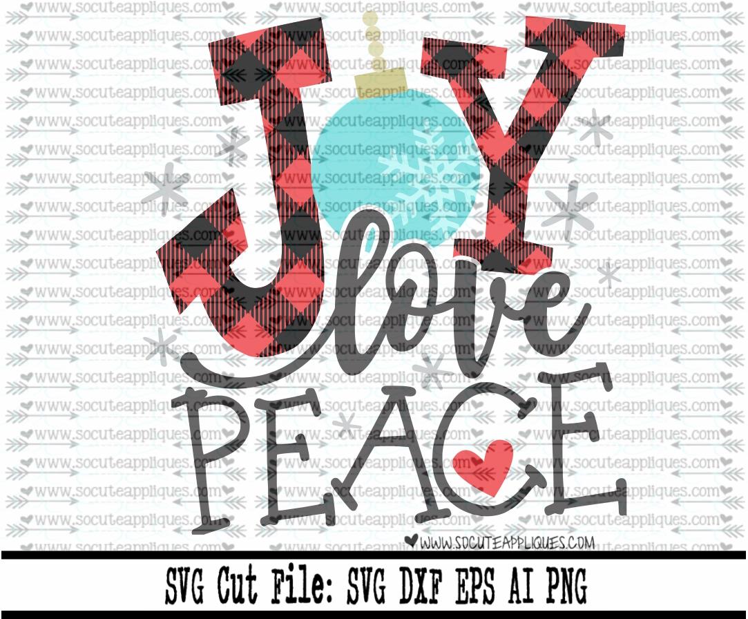Download joy love peace 17 svg sca - socuteappliques.net
