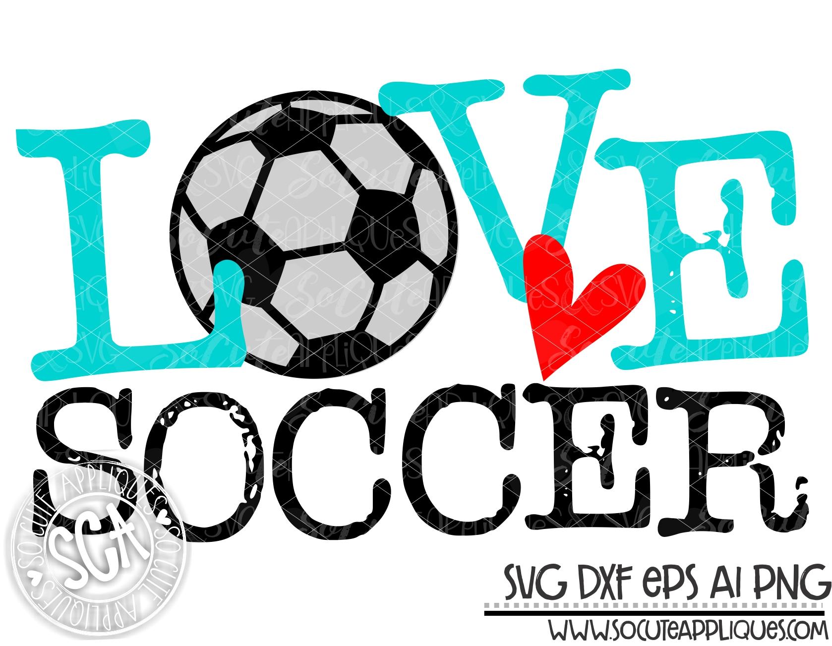 Download love type soccer 19 svg sca — socuteappliques.net