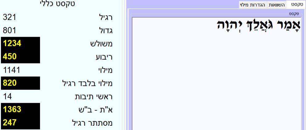 עדכון 9/09/2019 - ט אלול התשעט