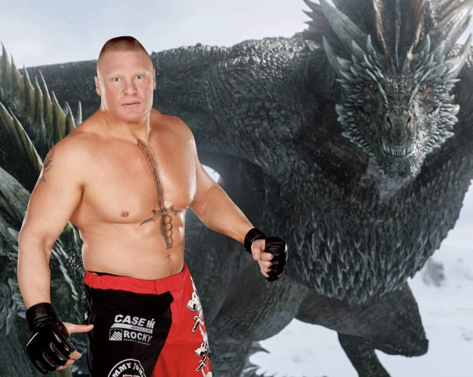 Brock Lesnar shocks WWE Universe with Game of Thrones Appearance 1