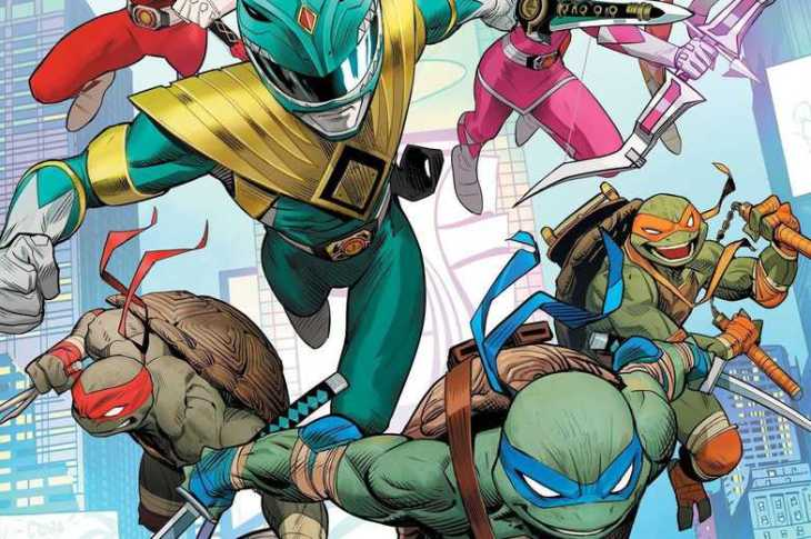 [COLLISION COURSE] Power Rangers and Teenage Mutant Ninja Turtles Crossover 7