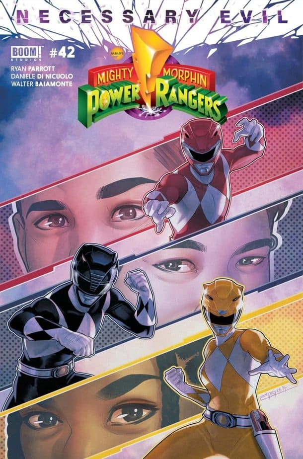 MIGHTY MORPHIN POWER RANGERS #42 - The Calm Before Twin Storms 1
