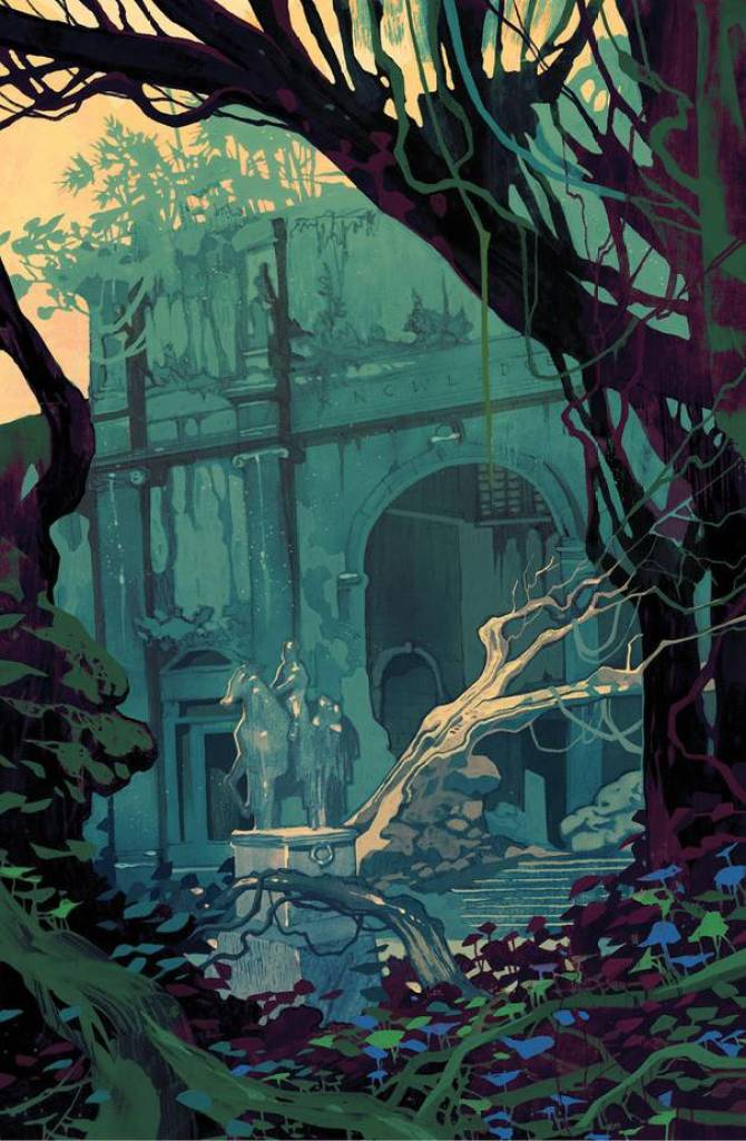 YOUR FIRST LOOK at Post-apocalyptic GRAPHIC NOVEL from WITCHER 2 Artist 4