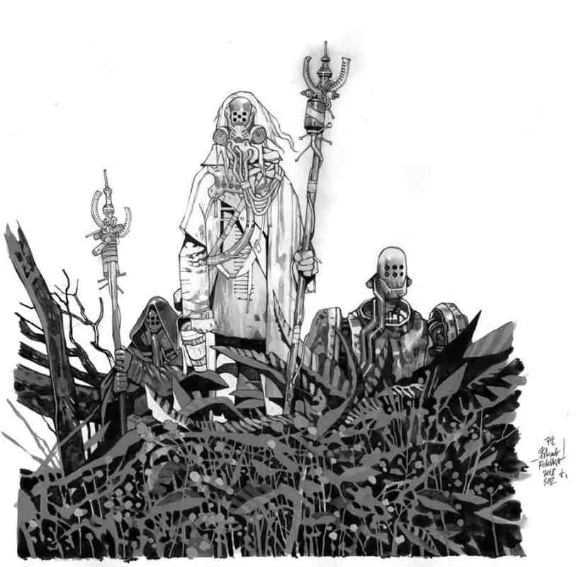 YOUR FIRST LOOK at Post-apocalyptic GRAPHIC NOVEL from WITCHER 2 Artist 6