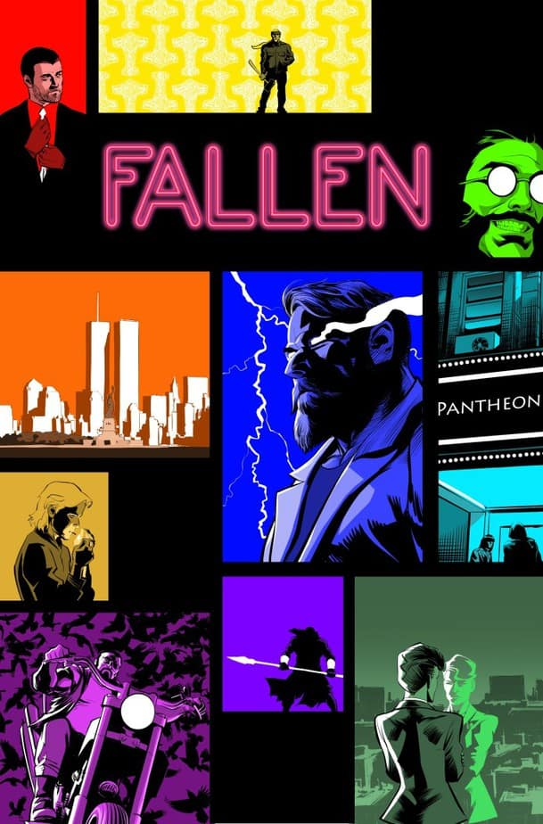 Fallen #1 , courtesy TheFallenComic.com